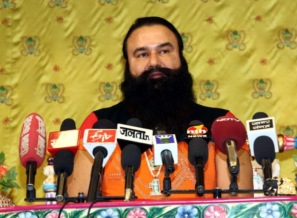 guru ji with media