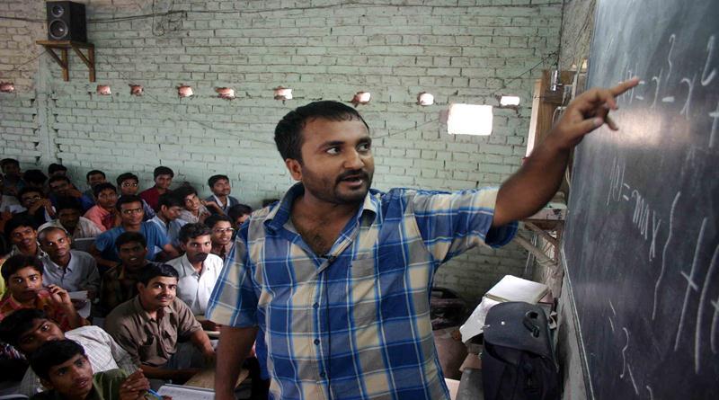 Anand-Kumar inspiring teacher