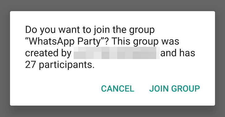 How Safe is the WhatsApp Group Chat Invite Link to our
