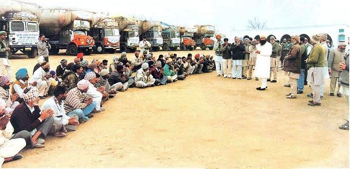 rajasthan drought, aid, dera sacha sauda