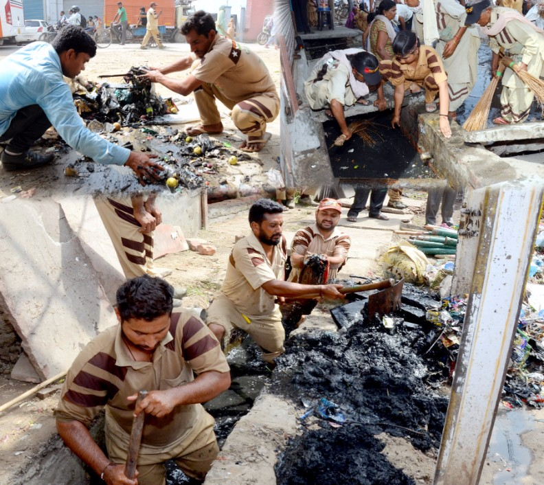 Cleanliness Campaign by Dera Sacha Sauda (2)