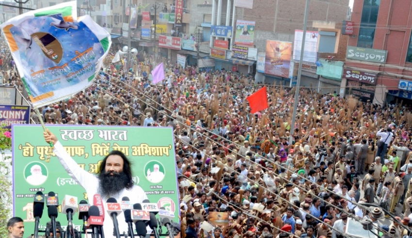 Cleanliness Campaign by Dera Sacha Sauda