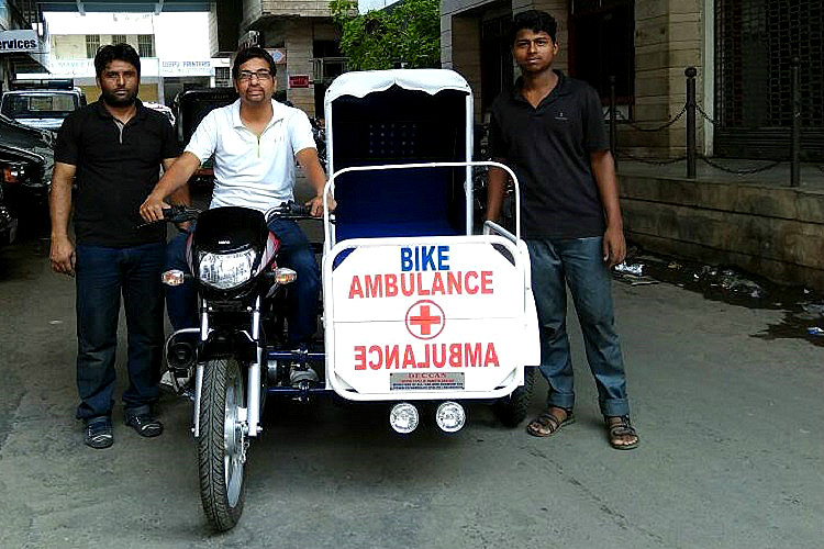 Bike ambulance