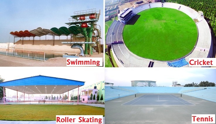 Sports Facilities at Dera Sacha Sauda