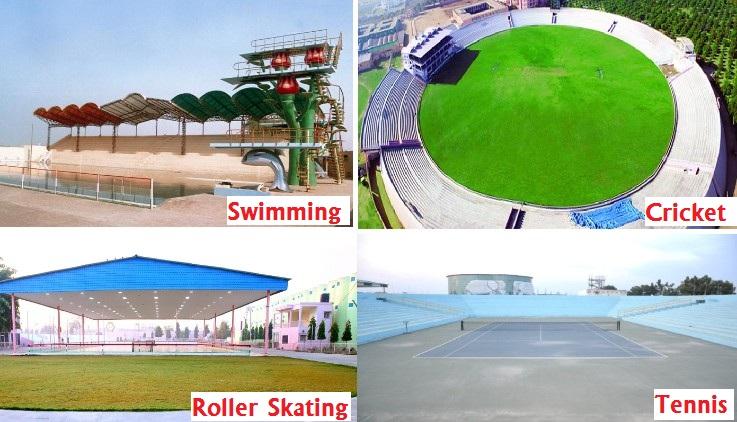 Sports Facilities at Dera Sacha Sauda