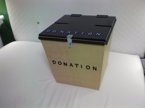 donation box for masjid