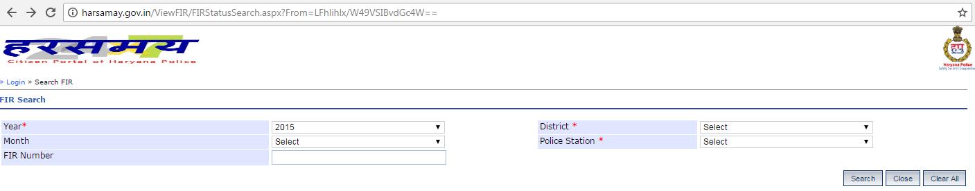 harsamay haryana police