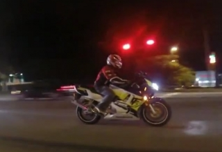 bike driving India
