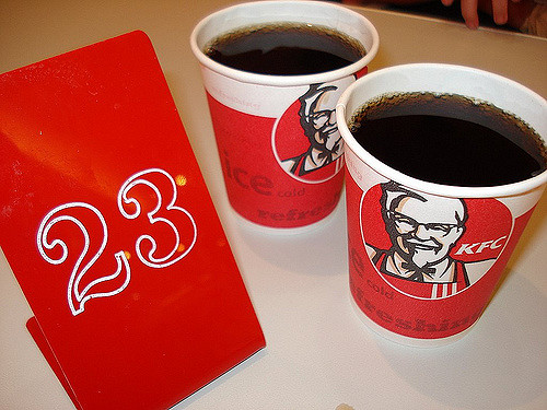 kfc drinks, drinks, multinational companies drinks