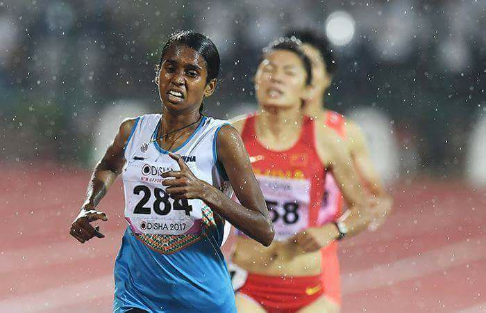 pu chitra 22nd Asian Athletics championship