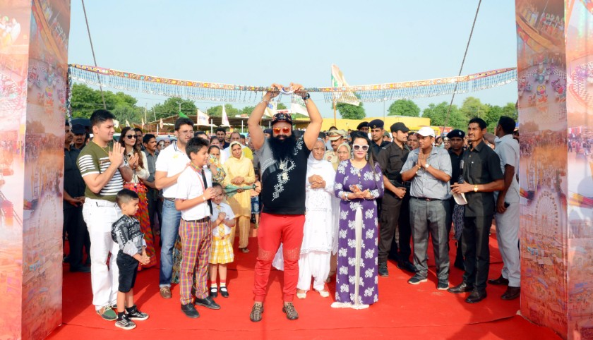 saint msg bhandara, 9 bar 9 carnival, saint msg birthday celebration, Sirsa