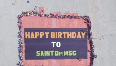 World's Largest Candy Mosaic, Dera Sacha Sauda, Sirsa