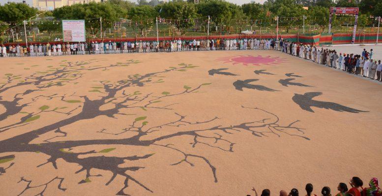 World's Largest Bird Nurturing mosaic, save birds, birds mosaic, largest bird mosaic