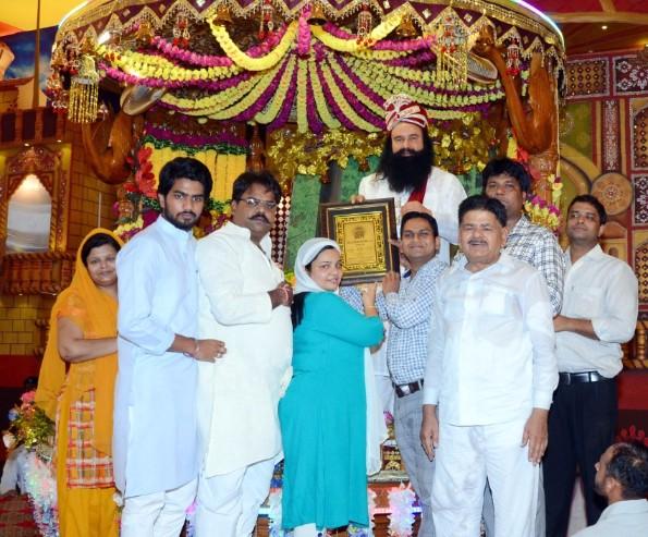 UP Akhil Bhartiya Vaishya Mahasabha Dera Sacha Sauda, Sirsa Support