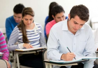 Comedk UGET 2017 exam, counselling Comedk, cut off of Comedk, Kcet exam, students, exam hall